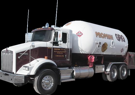 Camion livraison Propane GRG
